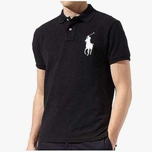 Polo Ralph Lauren black  Polo custom fit Size L